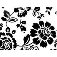 Трафарет — цветочный орнамент