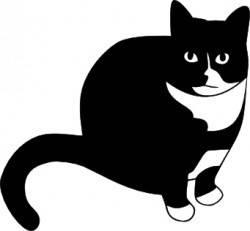 Трафарет — кот