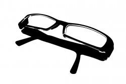 Трафарет с очками